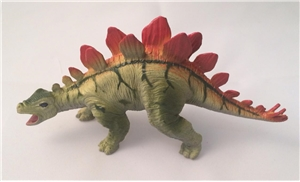 Small Hard Plastic Stegosaurus Dinosaur Toy Model