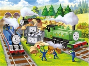 Thomas Track Trouble - 24 Piece Floor Puzzle