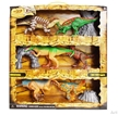 Dinosaur 6 pack & Props Playset