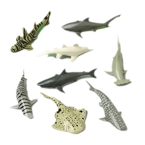 Shark Toy Animals - 12 pack
