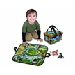 Zipbin Zoo-Mini, zoo animals, zoo playset, travel playset, zoo toys, zoo model toys, zipbin toys