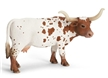 Schleich Texas Longhorn Cow Toy Model, cow toy, longhorn cow toy, texas longhorn cow model, long