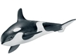 Schleich Killer Whale Calf Toy Model, killer whale model, whale model, whale calf model, killer whal