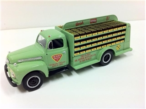 1951 Ford F-6 Dublin Dr Pepper Bottler's Truck Model Toy