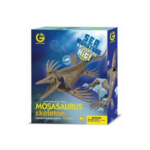 Geoworld Sea Monster Skeleton Excavation Kit - Mosasaurus Dinosaur