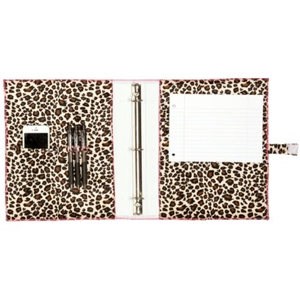 "Fashionit Africa Brown 1"" Binder Cover"
