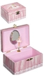Ballerina Musical Rectangle Shaped Jewelry Box