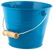 Kids Bright and Colorful Metal Garden Pail - Blue