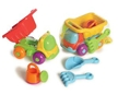 Dump Truck and Sand Set,sand toys, sand tools, beach toys, beach tools, sandbox toys, sandbox tools,