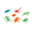 Glow in the Dark Neon Bugs - 12 pack, bug toys, toy bugs, insect toys, kid bug toys, insect replicas