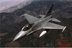 Ugly Box: F-16 Fighting Falcon Poster
