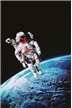 Astronaut Poster - Laminated