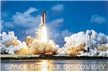Space Shuttle Discovery Launch Poster