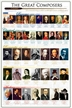 The Great Composers Poster