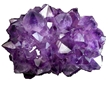 Extreme Amethyst Clusters - Colored Enhanced Purple