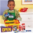 Pretend & Play Supermarket Set, pretend store, toy supermarket, supermarket toy, kid grocery store,