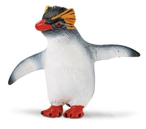 Wild Safari Sea Life Rockhopper Penguin Toy Model