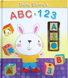 Busy Bunny's Abc - 123 Book