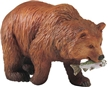 Wild Safari Forest Grizzly Bear Toy Model