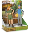 Safari Land Joe & Jane Zookeepers - On platform