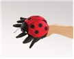 Folkmanis Lady Bug Hand Puppet