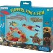 Wild Sealife Flippers, Fins & Fun Gift Set