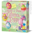 Mould & Paint Glitter Eggs Kit