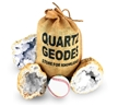 "X-Large 4"" to 5"" Break Open Your Own Geodes Gift Bag - 3 Pack"