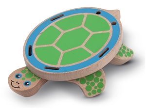 Peek-a-Boo Turtle Baby Toy
