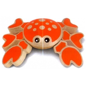 Twisting Crab Baby Toy