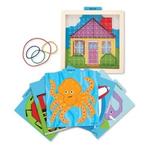 Melissa and Doug Stretch & Match Geoboard