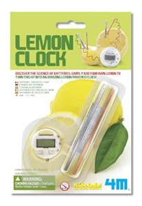 Mini Lemon Clock Science Toy