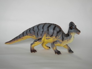 "Large 20"" Corythosaurus Squishy Toy Dinosaur"
