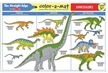 Melissa and Doug Color-A-Mat Dinosaurs