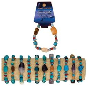 Turquoise and Gemstone Bracelet
