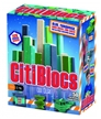 Citiblocs 50 Piece Cool Colors Wooden Building Set