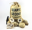 "Large 3"" Break Open Your Own Whole Moroccan Geodes Gift Bag - 10 Pack"