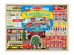 Melissa & Doug Wood Town Blocks Play Set