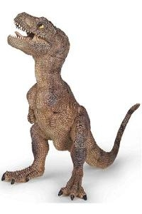 Papo Dinosaur Brown Baby T-Rex Toy Model