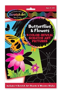 Melissa and Doug Color-Reveal Pictures - Butterflies & Flowers