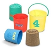 Melissa and Doug Seaside Sidekicks Nesting Pails