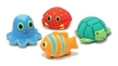 Melissa & Doug Seaside Sidekicks Squirters Water Toys