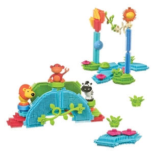 Jungle Bristle Blocks - 36 pcs