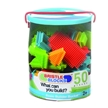 Bristle Block Bucket - 50 pcs