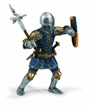Schleich Knight Foot Soldier with War Hammer