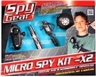 Spy Gear - Micro Spy Kit x2
