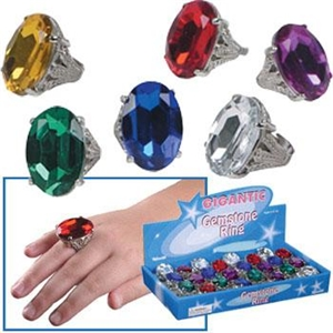 Gigantic Gemstone Ring