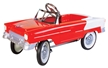 55 Classic Red Metal Pedal Car