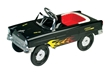 55 Classic Sidewalk Cruiser Metal Pedal Car-Flames
