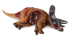 CollectA Dino Prey Dead Triceratops Dinosaur Model